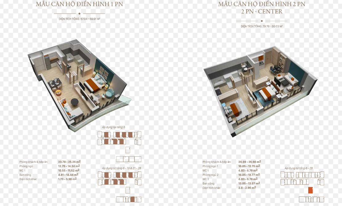 căn hộ 1 ngủ tại CONDOTEL CITADINES HẠ LONG