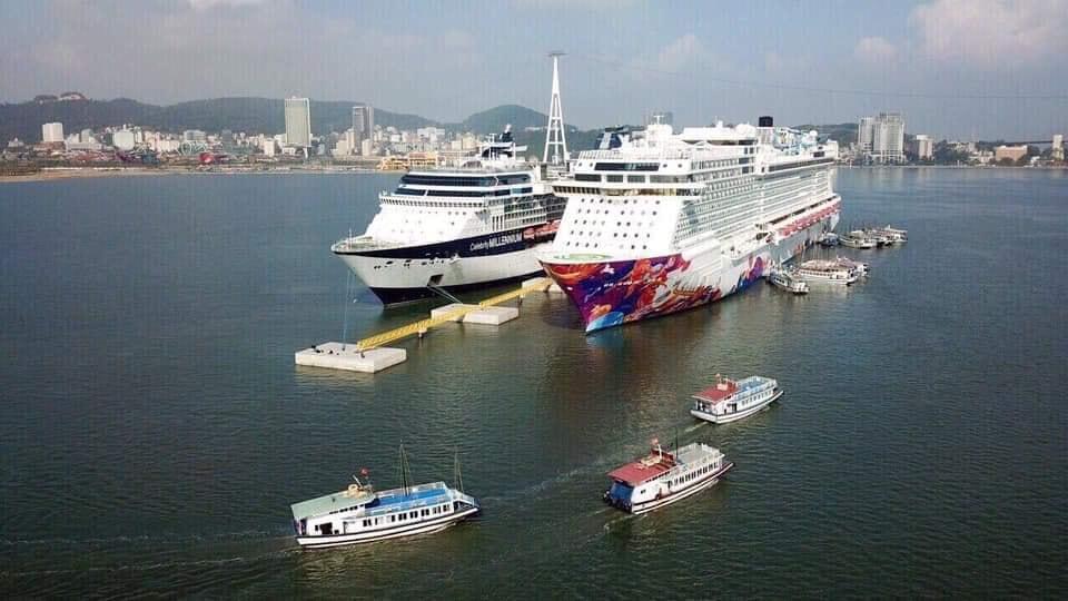 Cảng tàu quốc tế tại Hạ Long