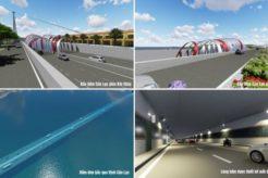 Quảng Ninh xây hầm đường bộ vượt biển lớn nhất Việt Nam