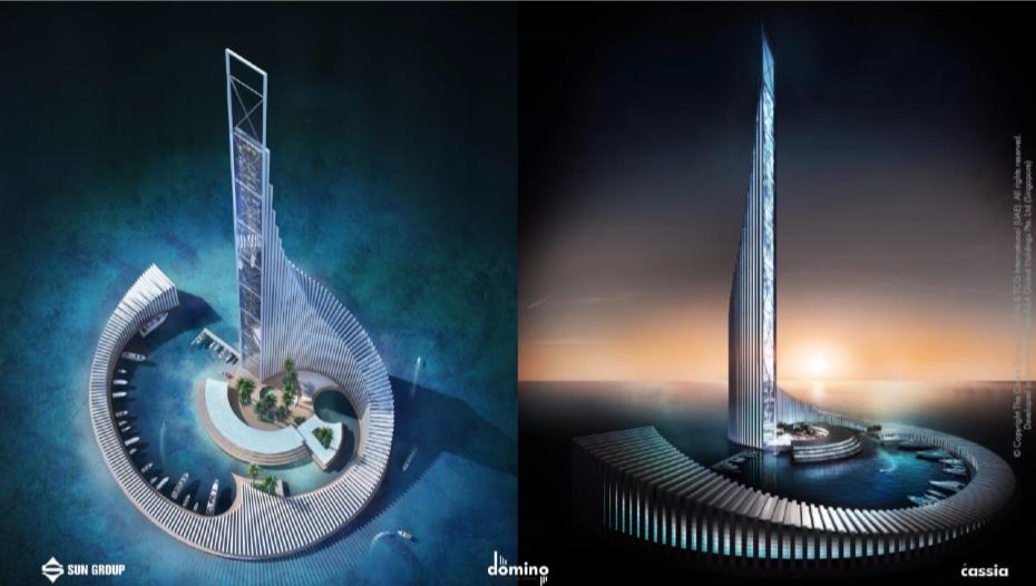 khu cao tầng 99 tầng